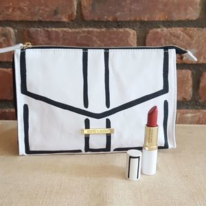 Estée Lauder Lipstick and Cosmetic Bag